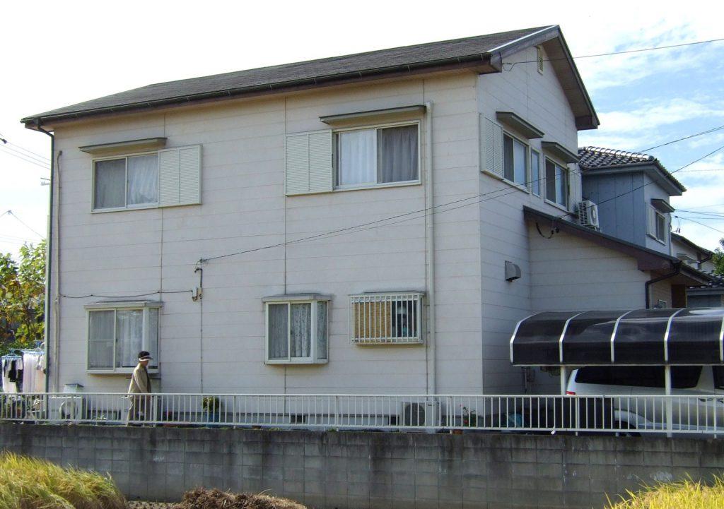 蟹江町 屋根・外壁塗装 Y様邸施工前
