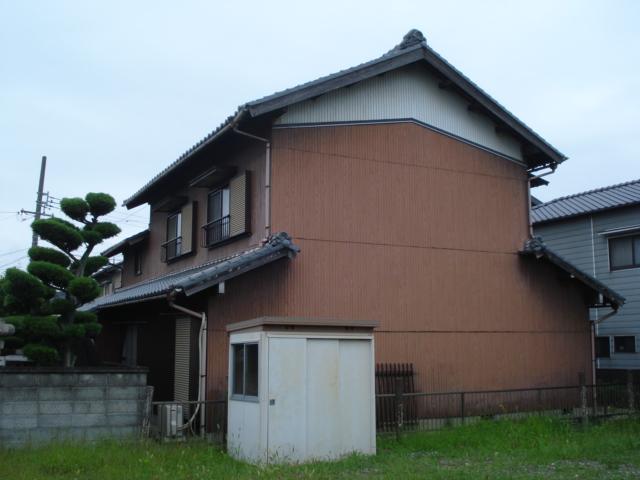 蟹江町 外壁塗装 S様邸施工前