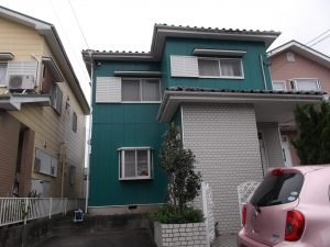 蟹江町 外壁塗装 U様邸