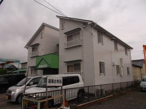大治町 アパート 屋根・外壁塗装