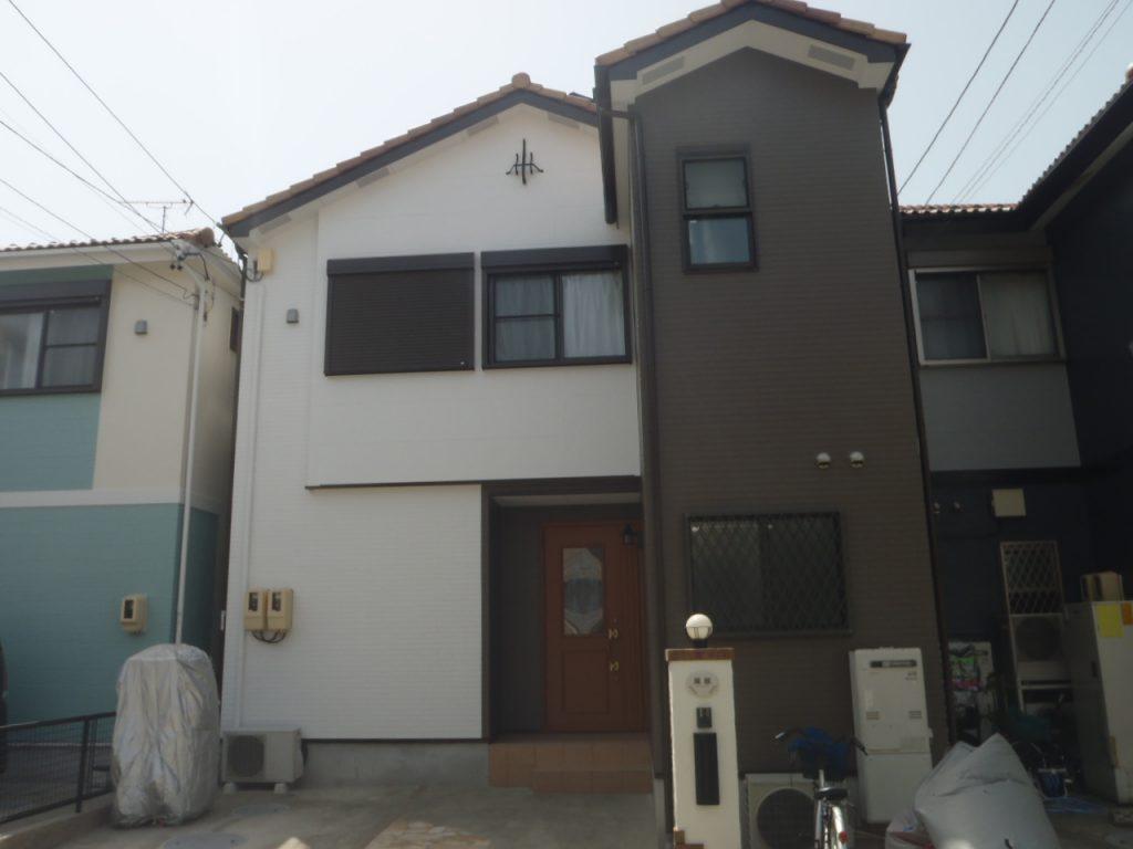 名古屋市中川区 外壁塗装 H様邸施工前