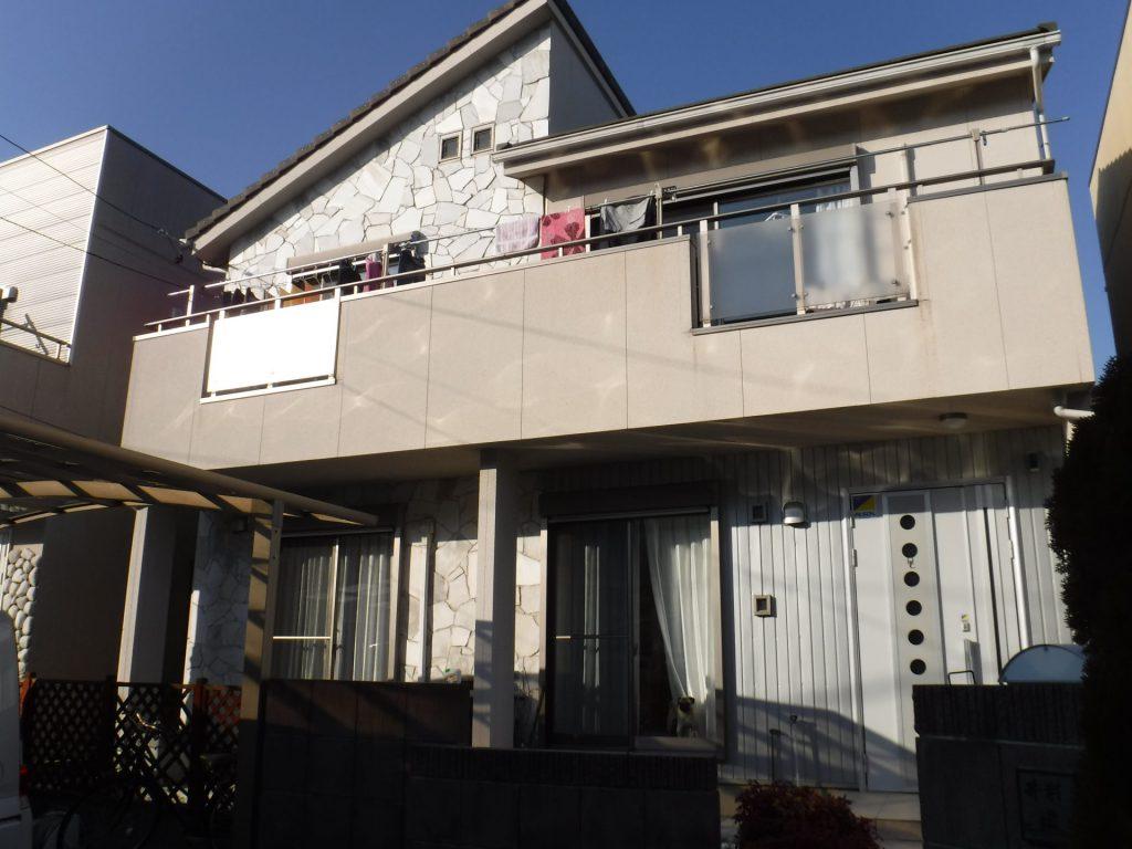 愛西市 外壁塗装 I様邸施工前