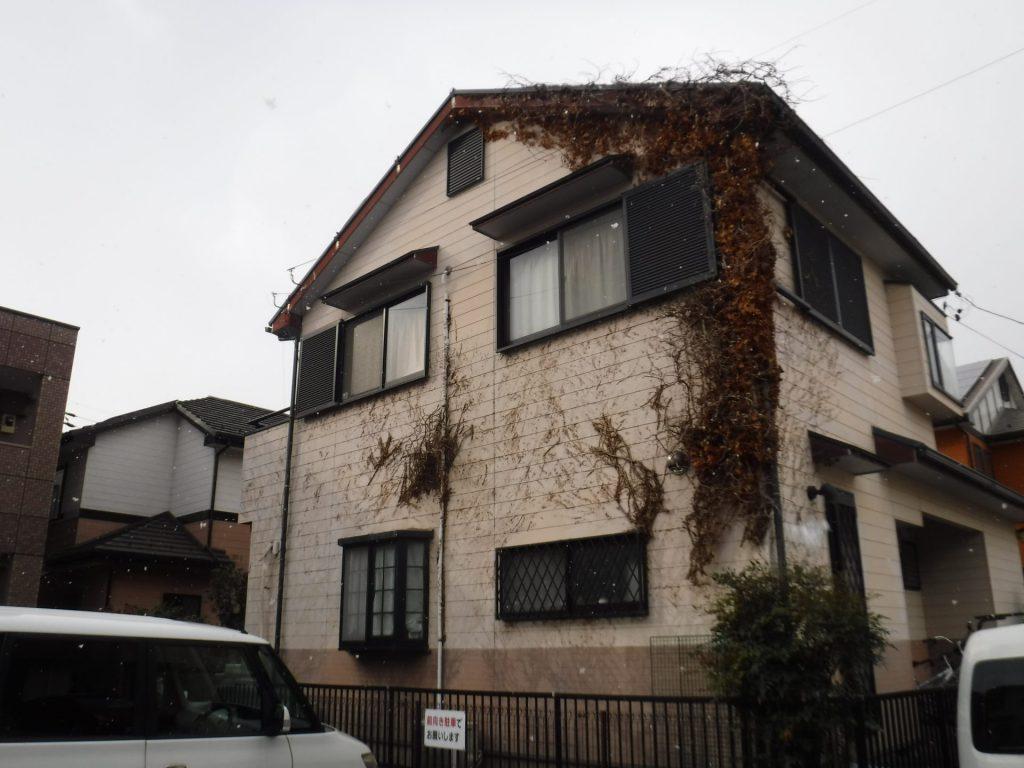 大治町 屋根・外壁塗装 U様邸施工前