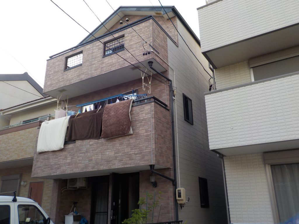 名古屋市中村区 外壁塗装・屋根カバー工事 N様邸施工前