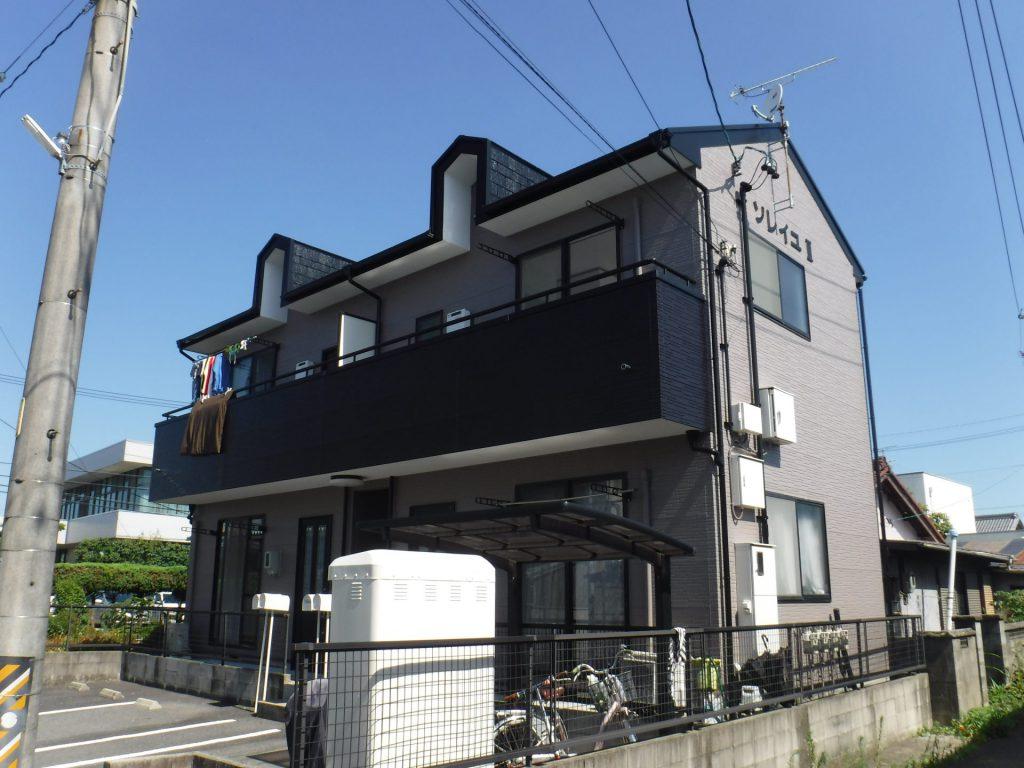 稲沢市 アパート施工前