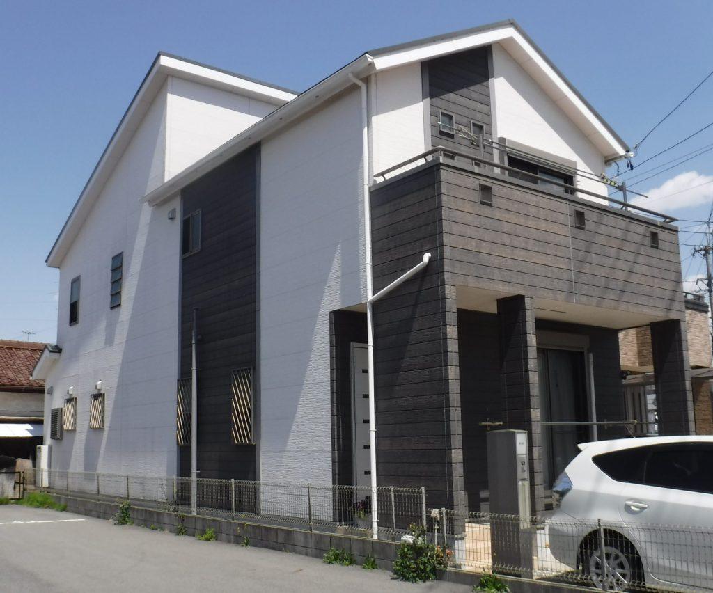 蟹江町 屋根・外壁塗装 K様邸施工前