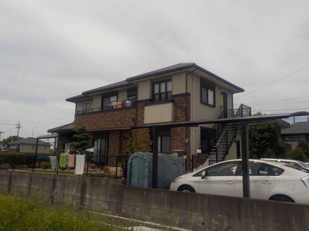津島市 外壁塗装 T様邸施工前