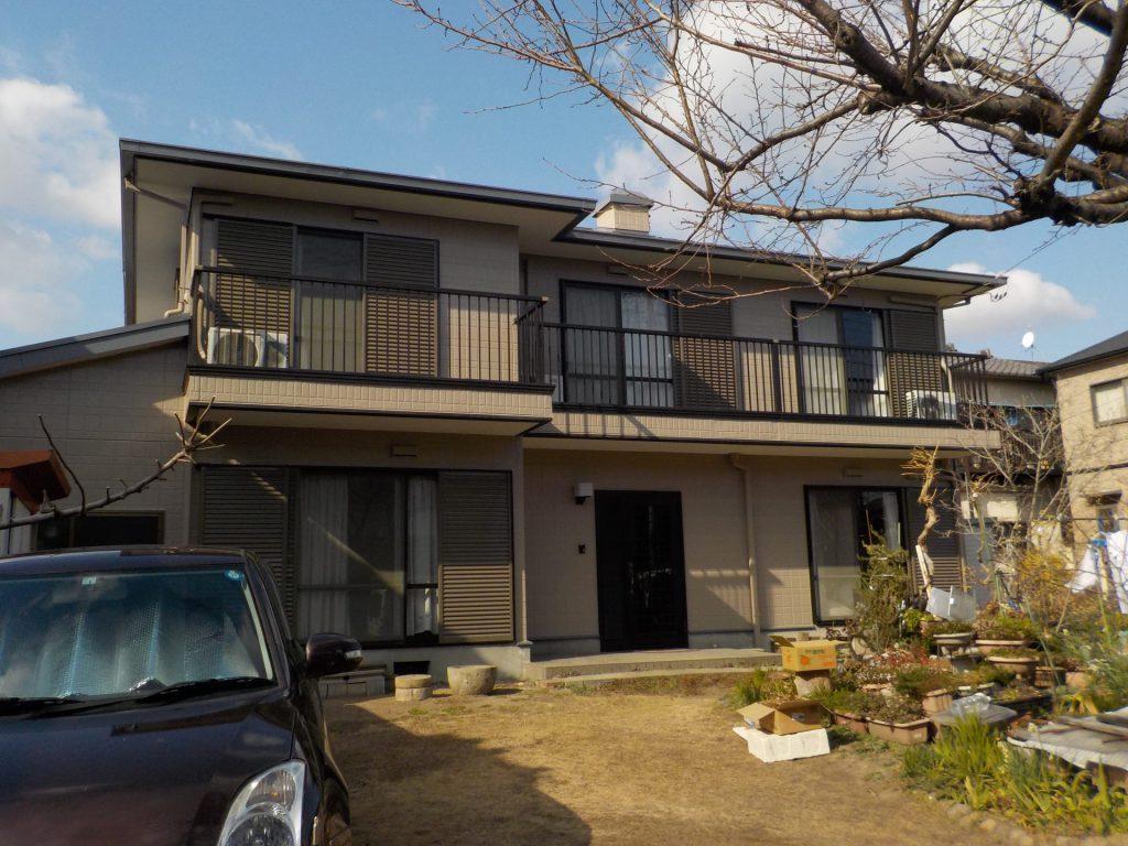 名古屋市中村区 屋根・外壁塗装 A様邸施工前