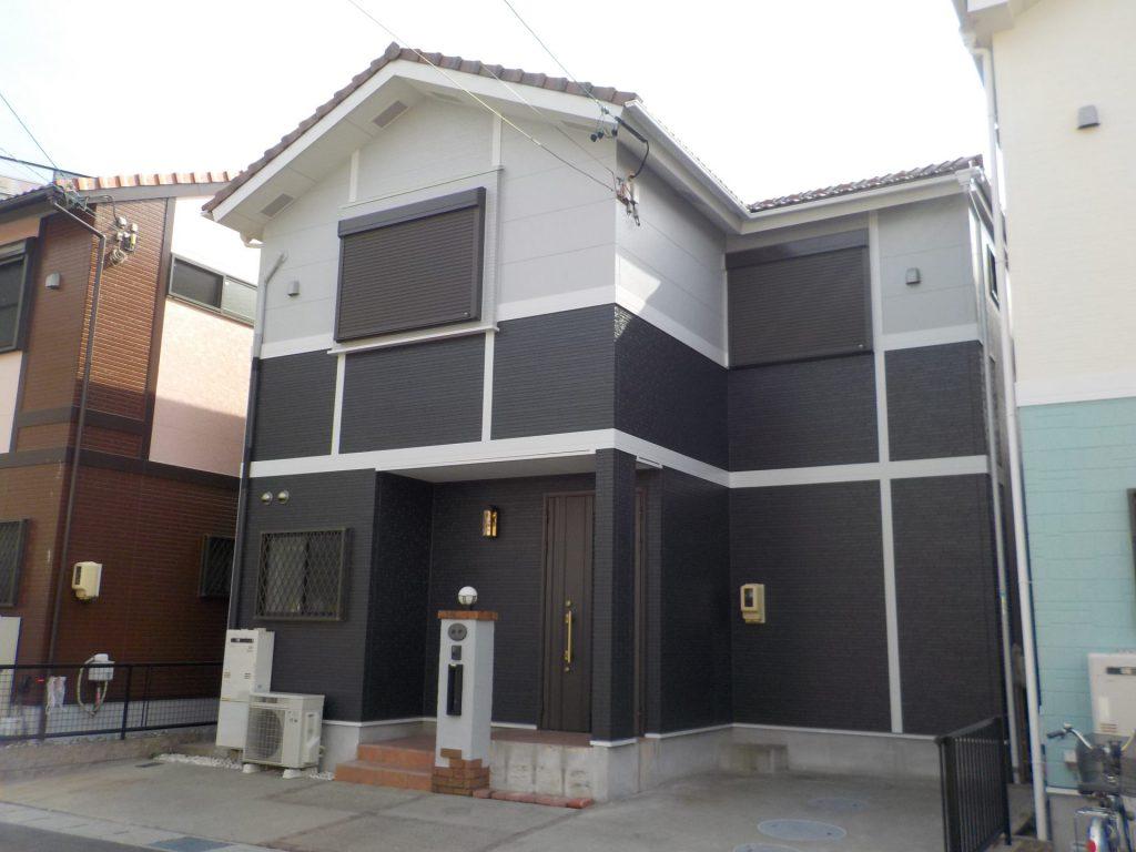 名古屋市中川区 T様邸 外壁塗装施工前