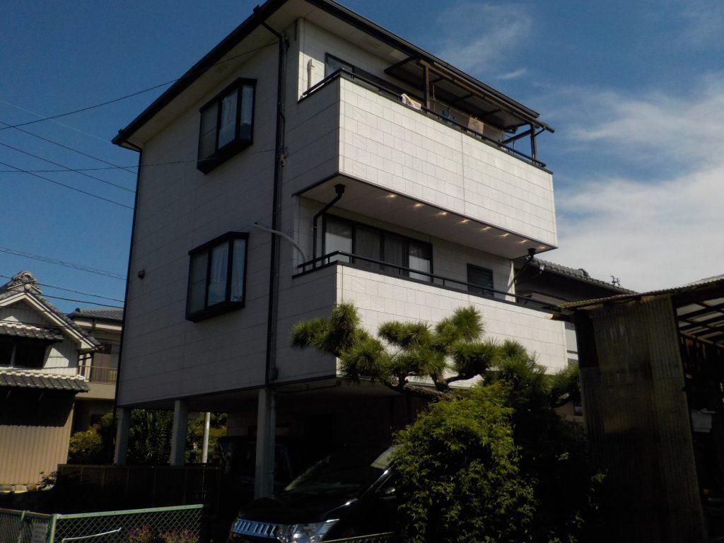 大治町 外壁・屋根塗装 W様邸施工前