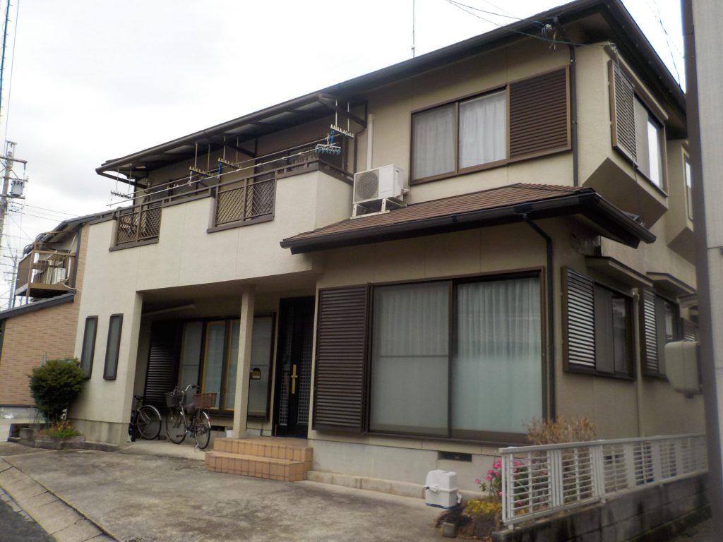 名古屋市 南区 外壁塗装  屋根板金カバー工事Y様邸施工前
