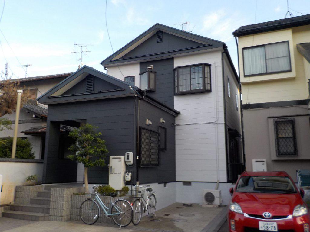 蟹江町 屋根・外壁塗装 S様邸施工前