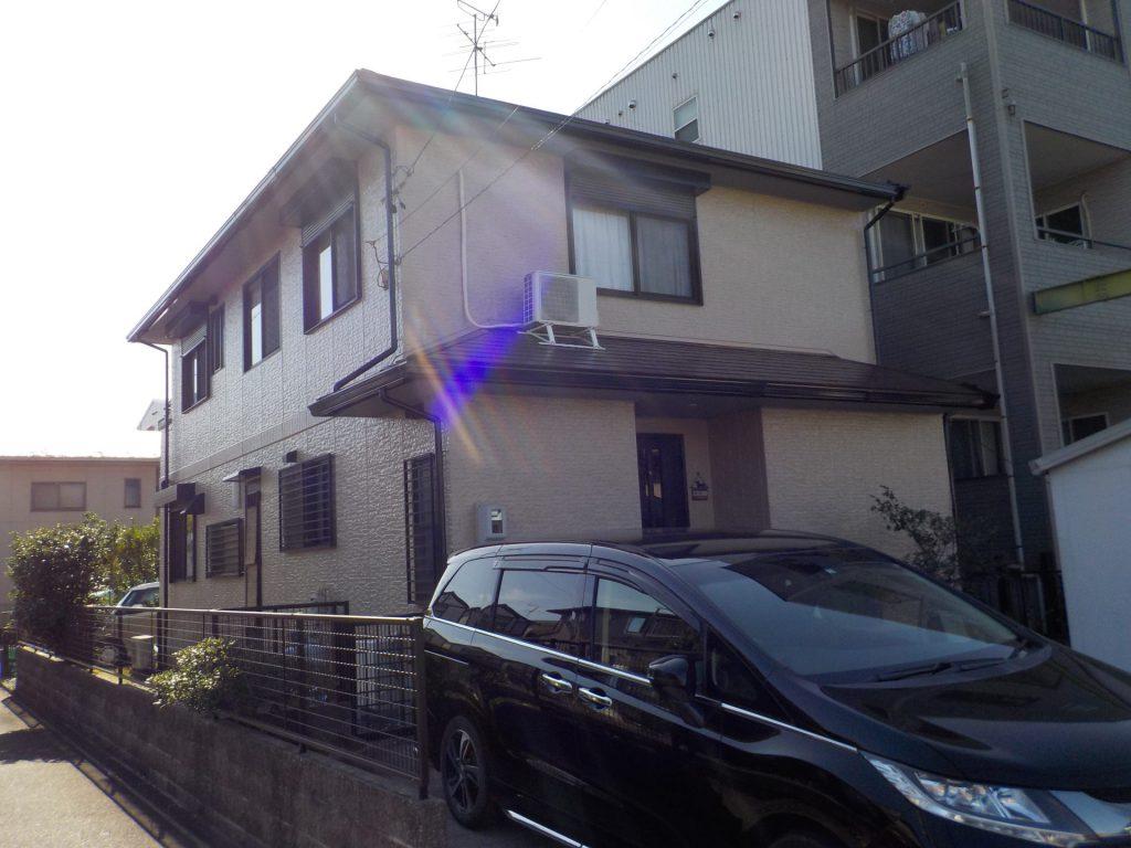 名古屋市港区 屋根・外壁塗装 T様邸施工前