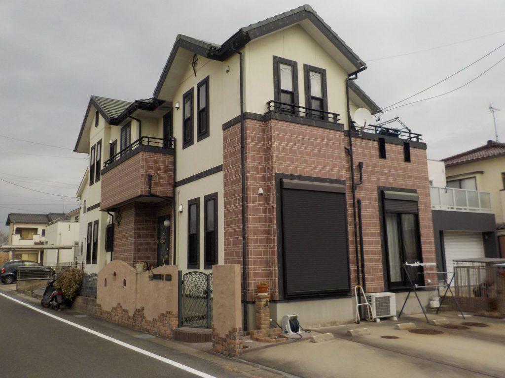 北名古屋市 外壁塗装 K様邸施工前