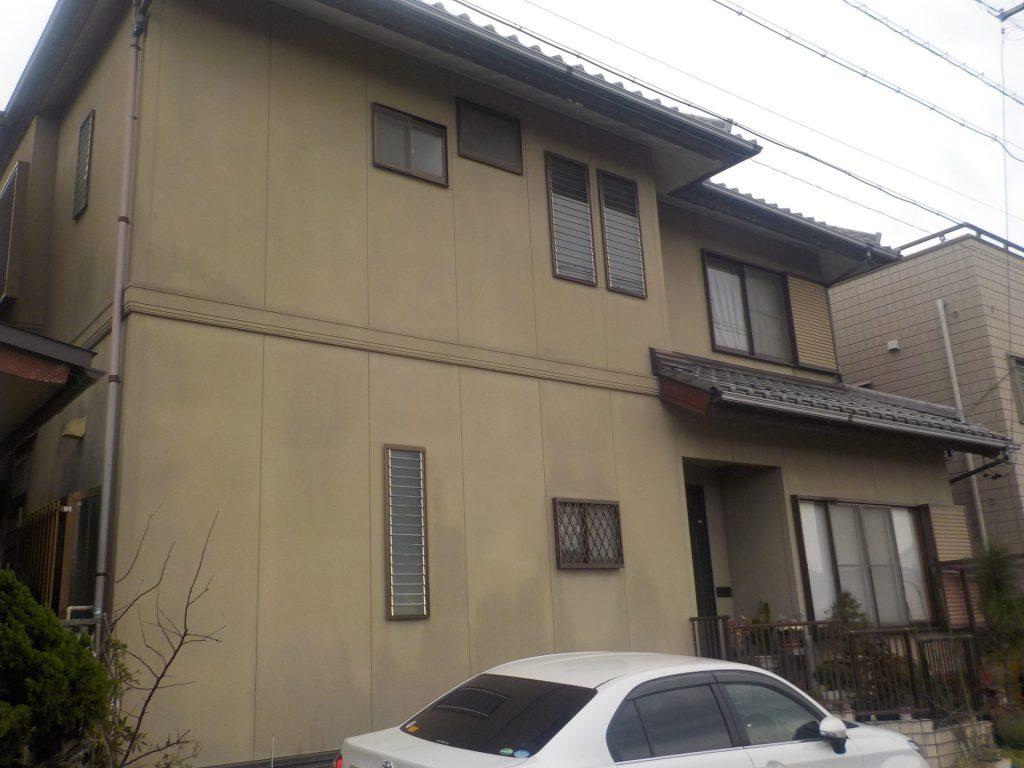 稲沢市 外壁塗装 H様邸施工前