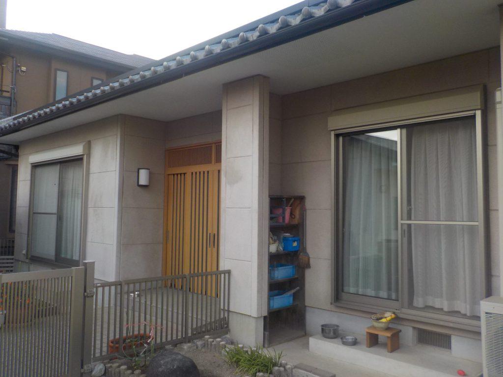 蟹江町 外壁塗装 K様施工前