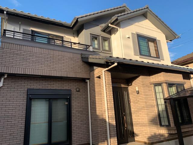 蟹江町 外壁塗装 K様邸施工前