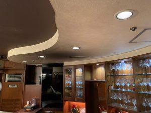 名古屋市 店舗の天井塗装