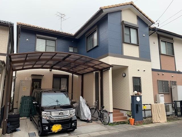 津島市 外壁塗装 K様邸施工前