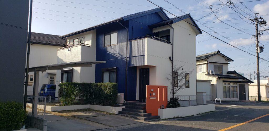 津島市 外壁塗装 M様邸施工前