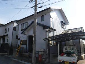 津島市 屋根・外壁塗装・エクステリア工事 H様