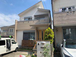 名古屋市中川区 屋根・外壁塗装 K様